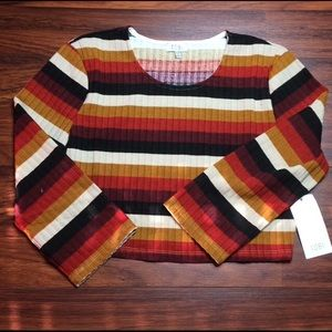 Tobi Crop Sweater